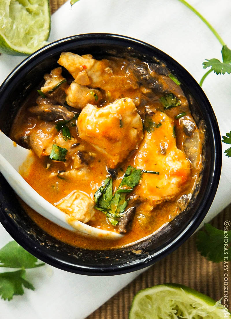 Recipe for Thai Chicken Red Curry