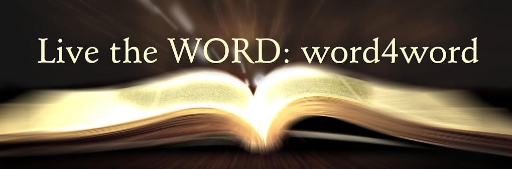 Live the WORD: word4word