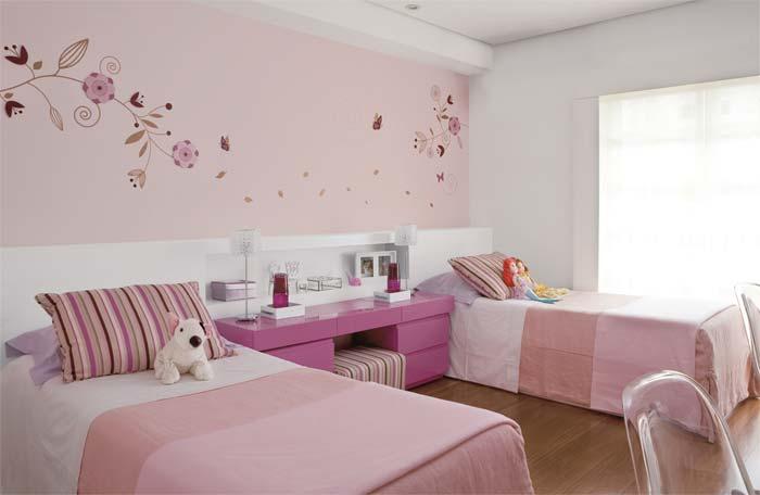 50 Ideias para decoração de quartos de meninas ou gêmeas » Gemelares