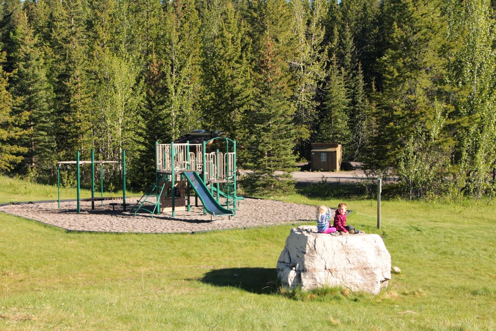 Camping in Albertas Kananaskis Country