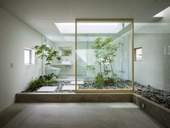 Taman Dalam Rumah Model Jepang