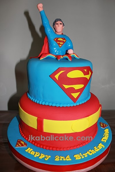 Bali Superman Birthday Cake
