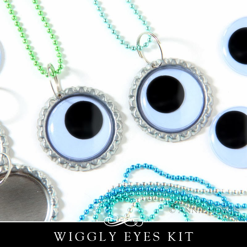 Make 5 Wiggly Necklaces Kit