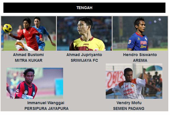 Pemain Tengah Timnas Indonesia