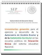 Lineamientos generales Autonomía de Gestión y Curricular en EB