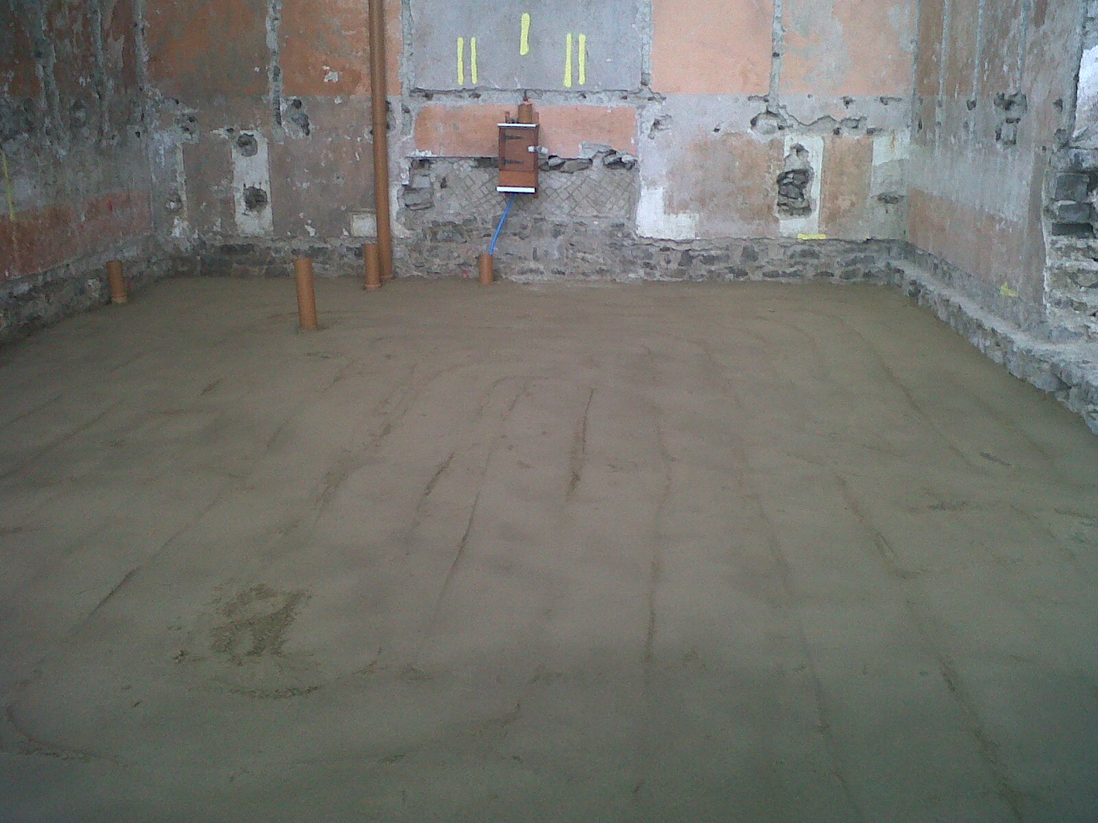 Amroth Project Ground Floor Slab Reinforcement Radon