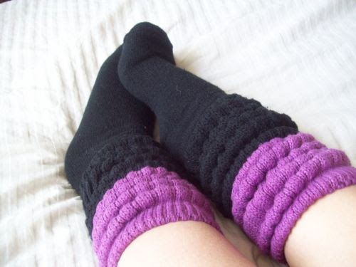 Cool Sox Layered Slouch Socks