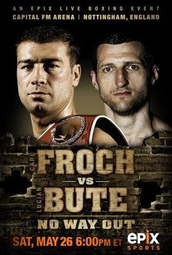 IBF World Super Middleweight Championship Carl Froch Vs Lucian (2012)
