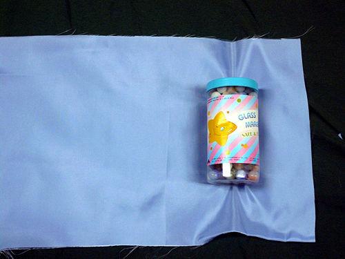 como hacer bolsas de tela para regalar