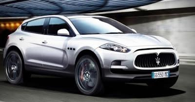 2011 Maserati SUV Concept