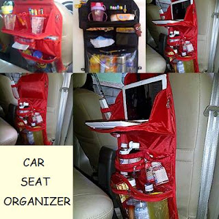gambar car seat organizer