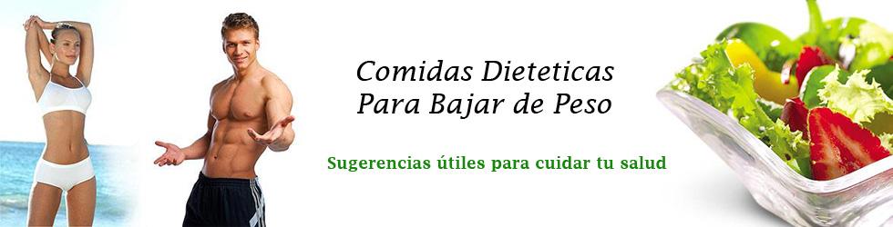 Comidas Dieteticas para Bajar de Peso
