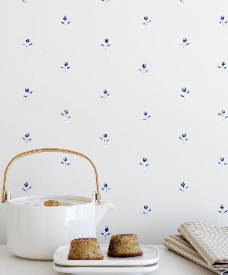 Papel pintado para la cocina de verano mi casa es feng - Papel de pared para cocina ...