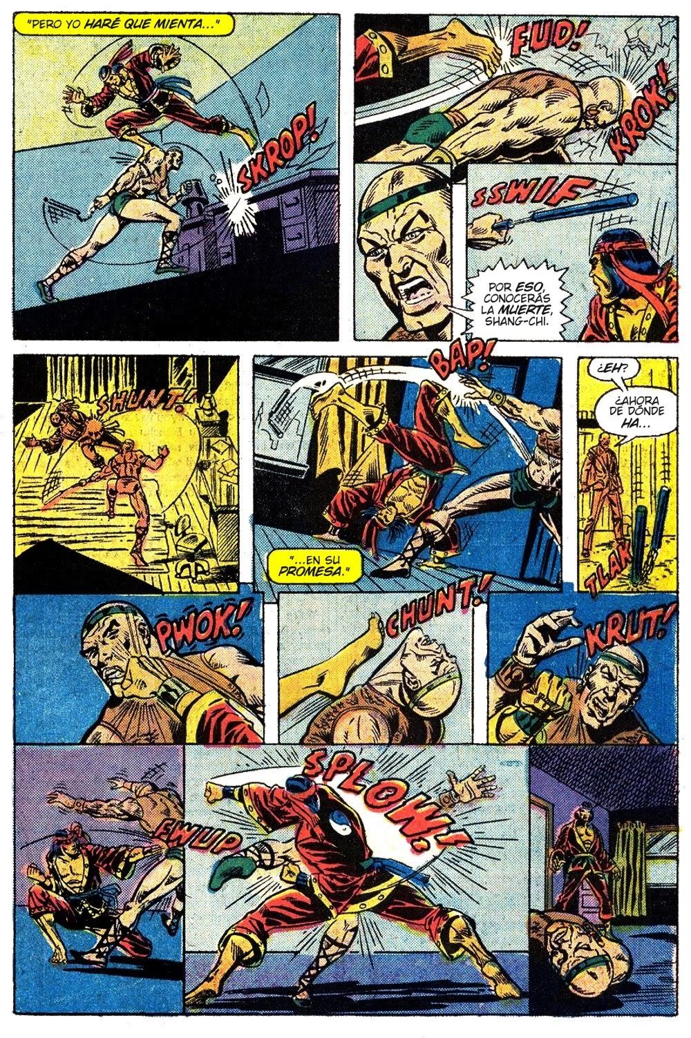 Página de Master of Kung Fu 26