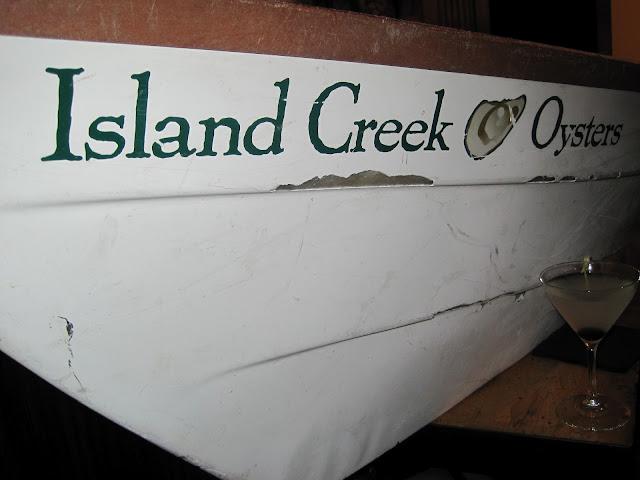 Island Creek Oyster Boat
