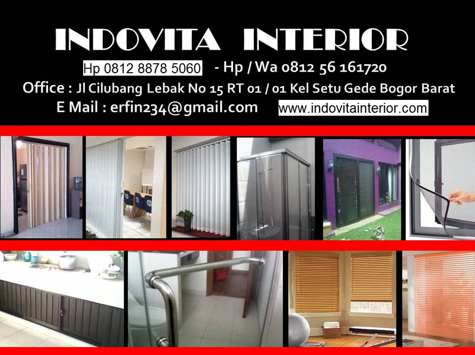 INDOVITA-Bogor-Jakarta-Tangerang-Bekasi-Depok-Banten-Cikarang-Karawang, Folding Door-Kasa Nyamuk