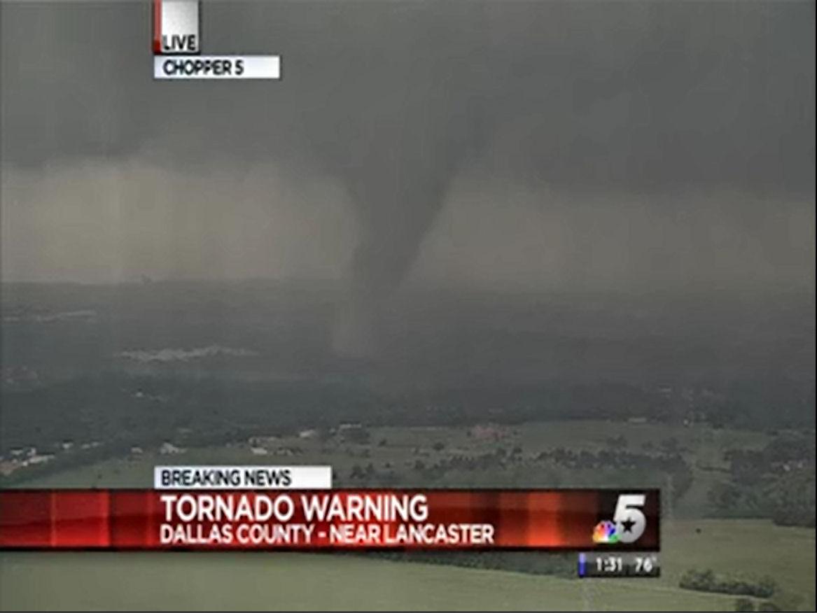 Dallas Fort Worth Tornado