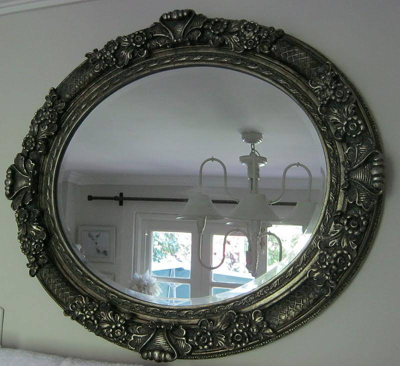 Paz montealegre decoraci n espejos provenzal normando for Espejo ovalado