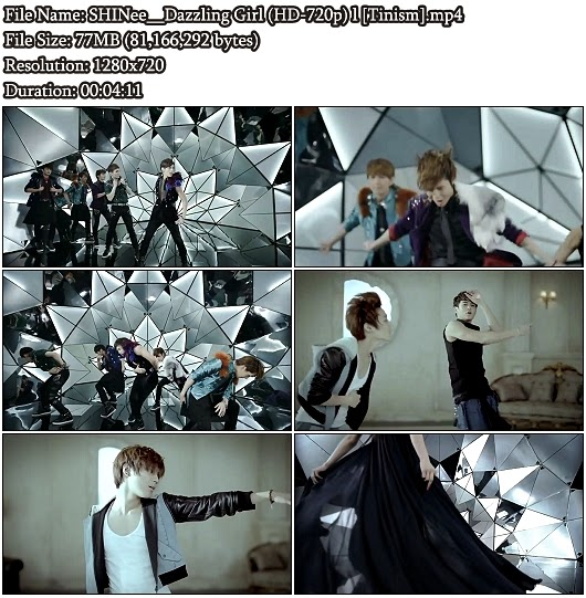 Download PV SHINee - Dazzling Girl (Full Version) (HD 720p)