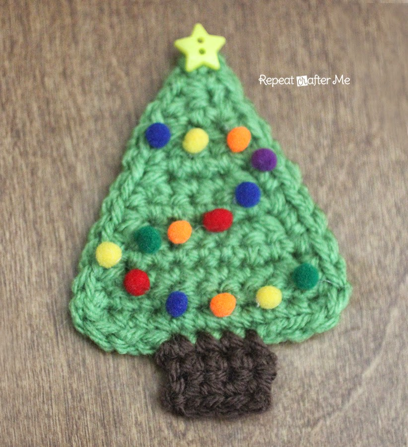 Oh christmas tree oh christmas tree this crochet christmas tree