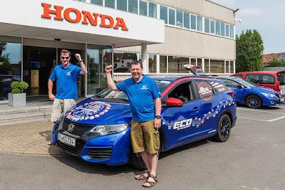 H Honda κατοχύρωσε ένα νέο τίτλο στα Παγκόσμια Ρεκόρ GUINNESS (GUINNESS WORLD RECORDS™)
