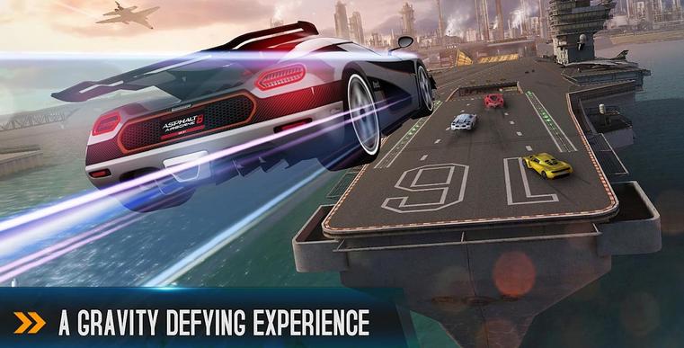 Asphalt 8: Airborne - Game Balap Mobil Android Terbaik