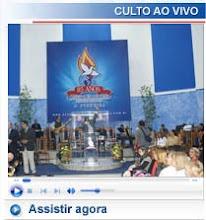 Assista o culto ao vivo em nossa sede todas terças-feiras as 19:30 horas