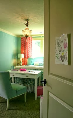 DIY Girl's Bedroom Redesign