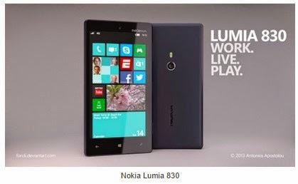 Spesifikasi dan Harga Hp Nokia Lumia 830 Terbaru