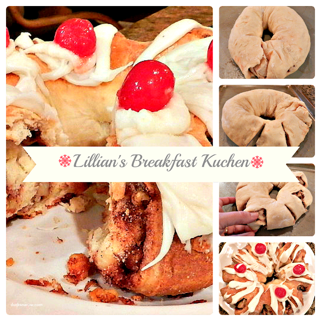 kuchen, danish, sweet bread, cinnamon roll, holiday breakfast pastry