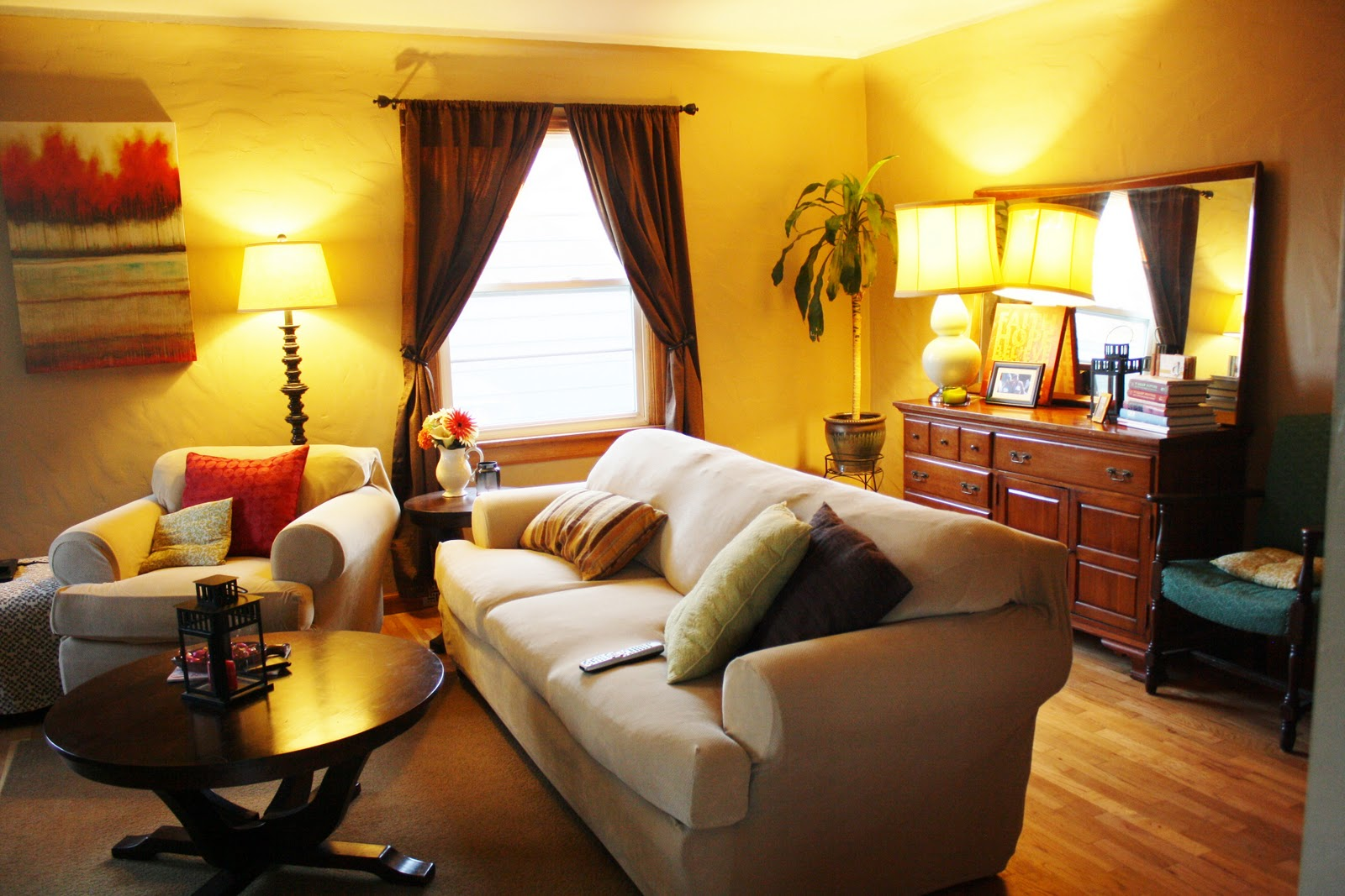 Upgrade Living Room: Domestically Dobson: Living Room Upgrade