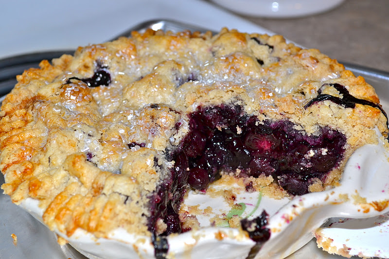 Gluten Free Betty: Blueberry Pie