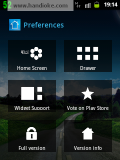 preference smart launcher