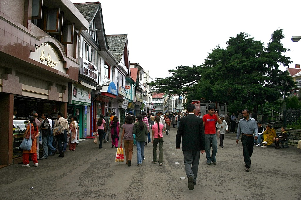 The Mall Shimla India
