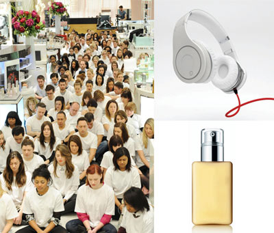 No Noise initiative and de-branded items at Selfridges