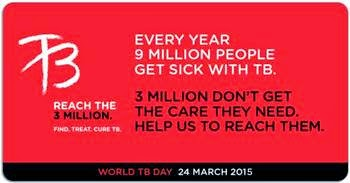 Hari Tuberculosis Sedunia/ World TB Day 2015, Tema, arti, data statistik penderita TB