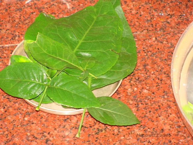 Bel Leaves offered during ashtami puja+Indian festival