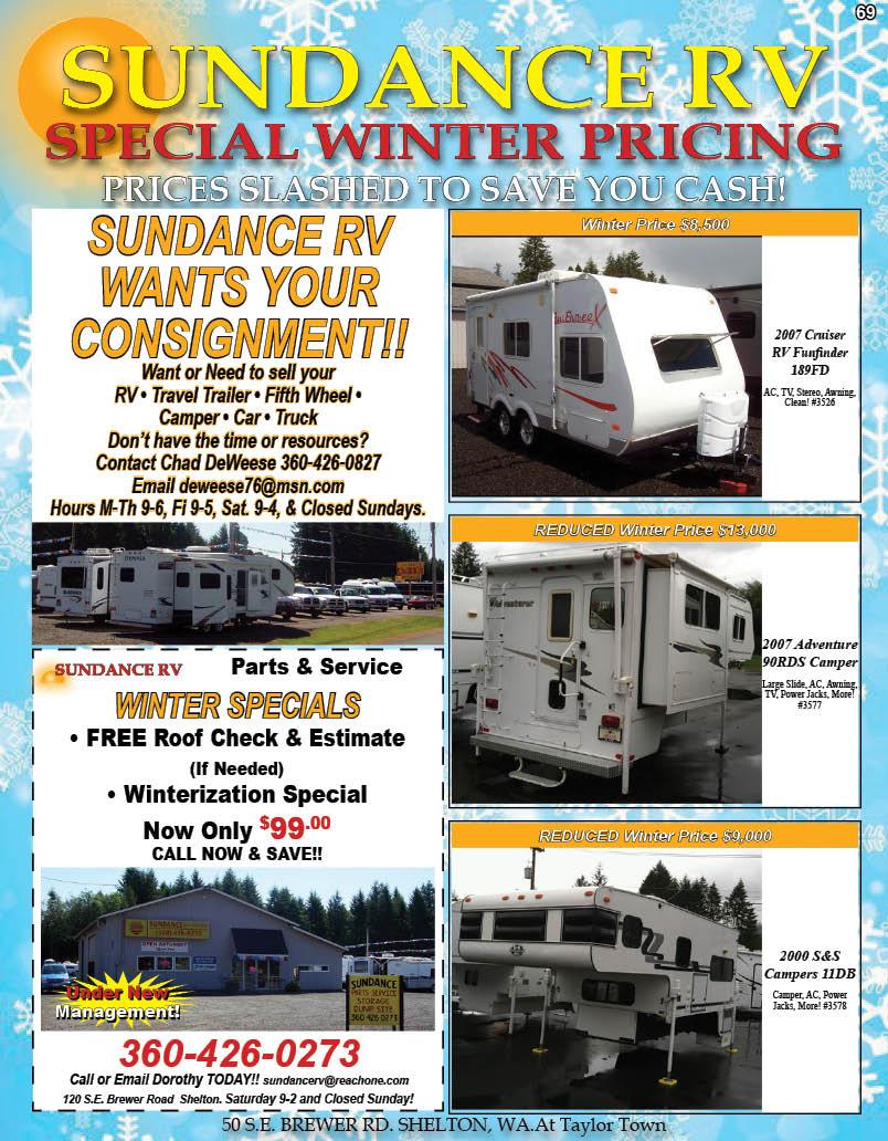 Sundance Auto & RV Center Sales Service Parts & Consignments