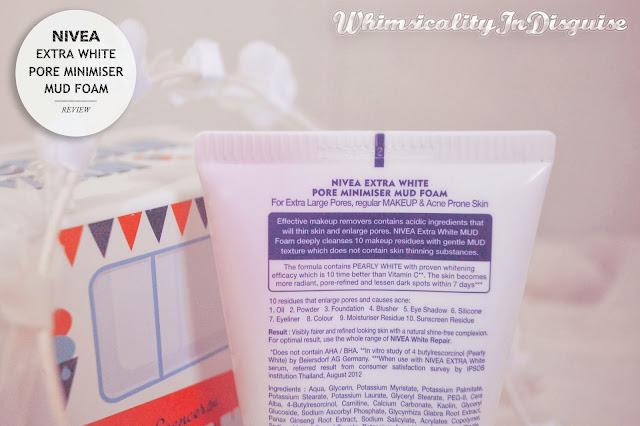 NIVEA Extra White Pore Minimiser Mud Foam