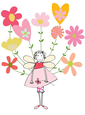 fairy limited edition prints greeting cards stationery Liz and Pip Ltd