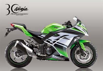 Kawasaki Ninja 250 & 300 (30th Anniversary Edition)