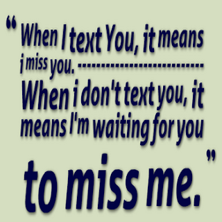 Miss you status for whatsapp Bbm waiting to miss me