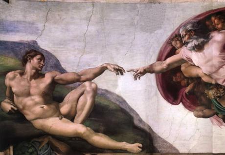 Art Talk - Michelangelo: Adams skabelse, 1510