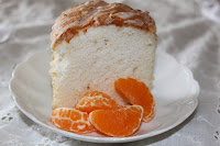 Orange Almond Angel Food Cake