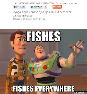 fishes everywhere