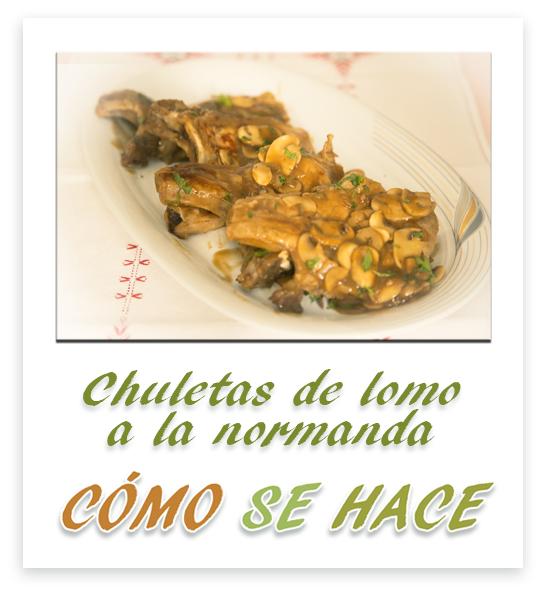 CHULETAS DE LOM...