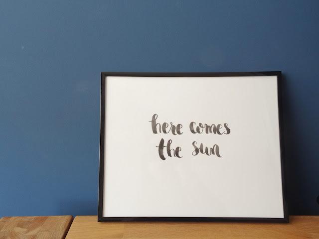 Lámina personalizada con Lettering