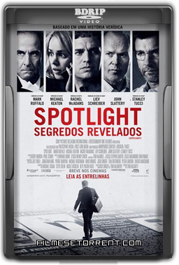 Spotlight Segredos Revelados Torrent BDRip Dual Áudio 2016