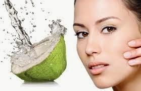 mascara de agua de coco
