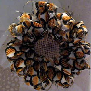 With A Blast - Loom Fabric Flower